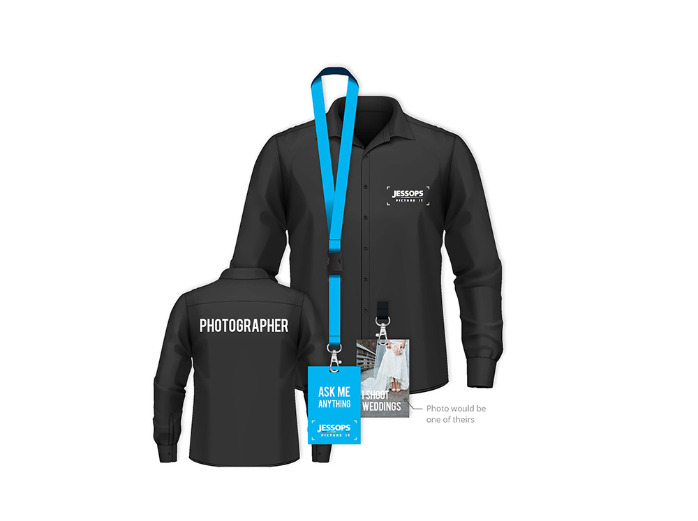 Photographers uniform
